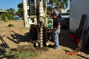 Environmental Drilling- Hollow Stem Auger