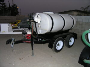500 Gallons Water Trailer